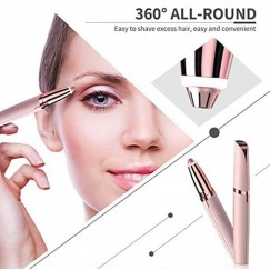 Hot-Eyebrow Trimmer Lady Shaver Lipstick Eye-brow Shaper Epilator Eyebrow Instrument Flawless
