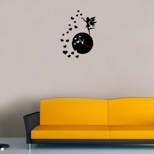 Vinilos Paredes Heart 3d Acrylic Mirror Wall Stickers Tv Background Decals Vinyl Home Decor Decoration Art Decorative