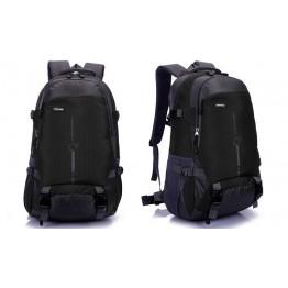 45L Travel Backpack Men Women Travel Backbag Large Capacity Waterproof Nylon Sport Camping Mountaineering Hiking Shoulder Bags