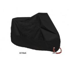 Motorcycle Cover All Season Waterproof Dustproof UV Protective Outdoor Indoor Lock-holes Design Motorbike Rain Cover