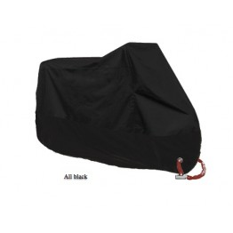 Motorcycle Cover All Season Waterproof Dustproof UV Protective Outdoor Indoor Lock-holes Design Motorbike Rain Cover