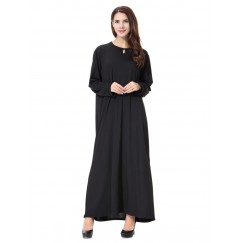Islamic clothing wholesale plus size muslim dress abaya in dubai kaftan Long Malaysia Abayas #CL17120302