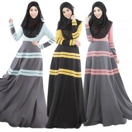 Islamic clothing wholesale plus size muslim dress abaya in dubai kaftan Long Malaysia Abayas #CL171203W08