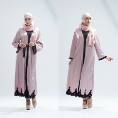 Islamic clothing wholesale plus size muslim dress abaya in dubai kaftan Long Malaysia Abayas #CL180316W05