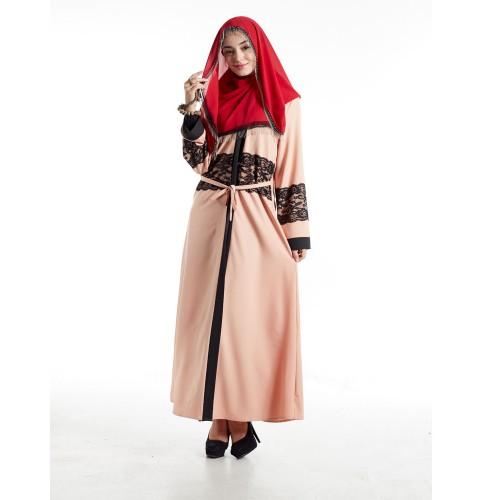 Islamic clothing wholesale plus size muslim dress abaya in dubai kaftan Long Malaysia Abayas #CL180316W10