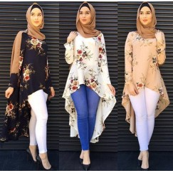2019 Muslim Muslimah blousa women fashion #CL190322W02