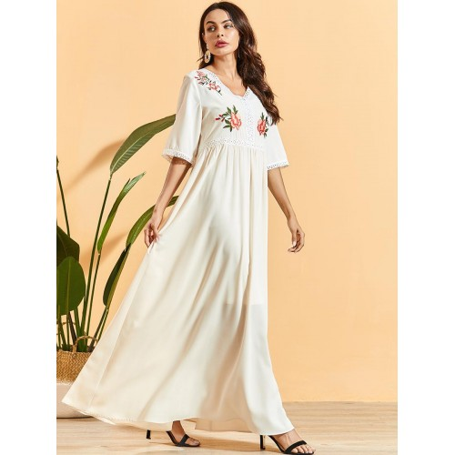 Women Causal Dress with Long Sleeve Loose Dress Female Clothing CL200824W07