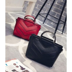 Pu Leather Handbag Shoulder Tote Women Bag Satchel Messenger Crossbody Bags Soft Black Women's Bag Handbags