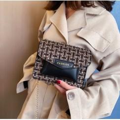 Woollen Clothes Handbag Shoulder Tote Women Bag Satchel Messenger Crossbody Bags Women's Bag Handbags