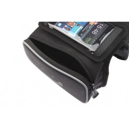 ROSWHEEL Bike Bicycle Cycling Frame Pannier Pack Front Tube Bag Double Pouch for Cellphone practical fashion