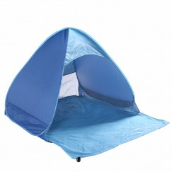 Tourist Fishing Ultralight Folding Tent Automatic Open Pop Up Tent Outdoor Camping Beach Anti-UV Fully Sun Shade 2 Persons Family Tent