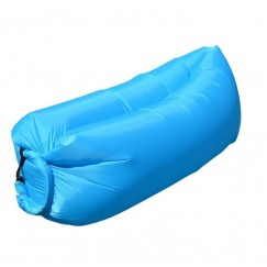 Lazy Inflatable Sofa Camping Outdoor Air Sleep Sofa Banana Shape Beach Lay Bag Couch Portable Furniture Big Living Room Bed Sofa