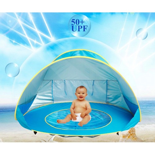 Kids Baby Games Beach Tent Portable Build Outdoor Sun Child Swimming Pool Play House Tent Toys For Baby Kids
