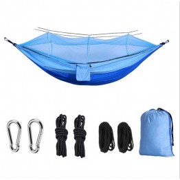 Ultralight Outdoor Camping Hunting Mosquito Net Parachute Hammock 2 Person Garden Hamak Hanging Bed Leisure hammock