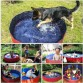 Bathing Tub Foldable Pet Bath Swimming Tub Bathtub Outdoor Indoor Collapsible Bathing Pool Portable Swimming Pools For Dogs Kids