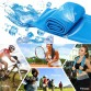 [6pcs/set] assorted color Outdoor Sport Ice Towel Rapid Instant Cooling Microfiber Quick-Dry Ice Towels Fitness Yoga Gym Running Wipe Sweat Chill Towels