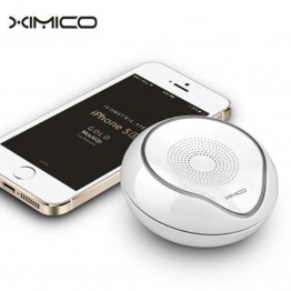 Ximico S5 3W 1.0-Channel Bluetooth V3.0 Stereo Speaker with Handsfree / Microphone / Green Light + Blue Light