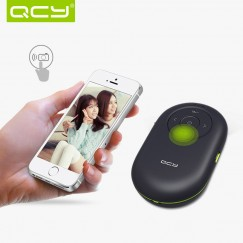 QCY QQ300 Smallest Wireless Mini Bluetooth Speaker Loud Speakers Remote Controller Self-timer Shutter Support TF Card