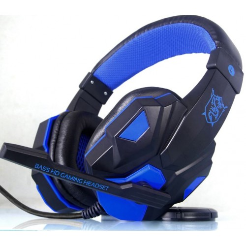 2016 Brand PLEXTONE PC780 Over-ear Game Gaming Headset Earphone Headband Headphone with Mic Stereo Bass LED Light for PC Gamers