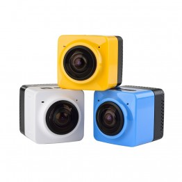 Cube 360 Camera 360D Action Camera Wifi 1280*1024 28fps Portable Mini Camcorder Outdoor Sport Wide-Angle Video Camera 360 Camera