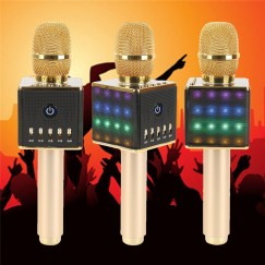 H8 Wireless Bluetooth Microphone Karaoke Home KTV Microphone Speaker Echo Reverberation For android ios New