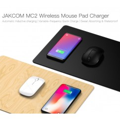 JAKCOM MC2 Wireless Mouse Pad Charger Hot sale in Smart Accessories as raspberry pi 3 horloge bracelet