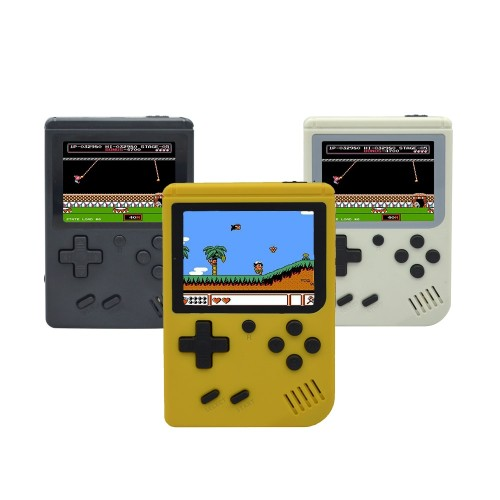 Mini Portable Handheld Video Game Console Retro FC Players 3.0 Inch Black 8 Bit Classic Gamepad Built In 168 Classic-FC Games
