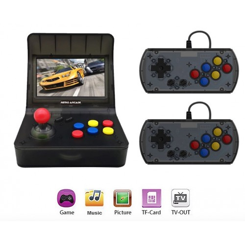 Retro ARCADE Mini Video Game Console 4.3 Inch Built In 3000 Games Handheld Game Console
