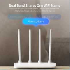 Original Xiaomi Mi Router 4A Standard Edition 100M 2.4GHz 5GHz WiFi  64MB 4 Antennas Remote APP Control