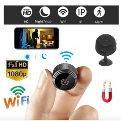 2019 HD 1080P Mini Camera Spy Camera Wireless Remote Wifi Security Cam Night Vision Motion Action Detects Invisible Night vision IP Hidden