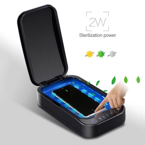 A01 UV Ultraviolet Sterilizer Box Nail Art Cell Phone Mask Disinfection Tool Multifunctional Mask Mobile Phone Sterilizer