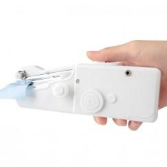 Mini Handheld Manual Sewing Machine Mini Portable Handy Home Sewing Quick Hand-Held Single Stitch Handmade DIY Tool