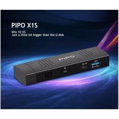 PIPO X1S MINI PC Windows 10 home TV Dongle Intel Z8300 UHD 4K HDMI1.4 2GB RAM 32GB ROM Built-in Fan TV Box TV Stick