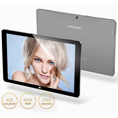 Teclast Tbook 11 PC Tablets 10.6 inch Windows 10 + Android 5.1 Dual OS 4G RAM 64GB ROM 2 in 1 IPS Retina Screen Intel Tablet