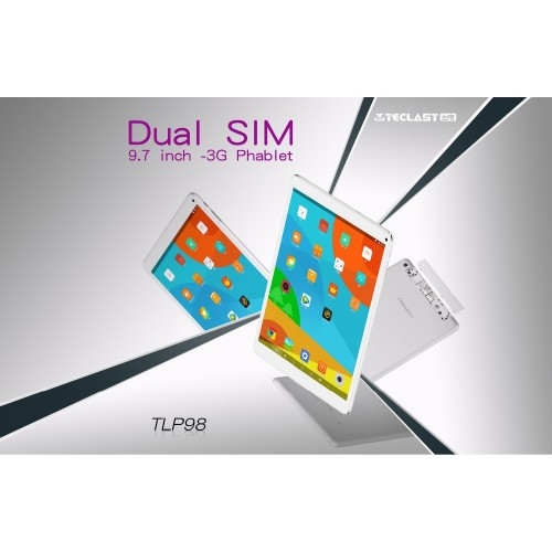Teclast TLP98 Phablet Tablet PC MTK6582 Quad-Core 2GB Ram 32GB Rom 9.7 inch 1024*768 IPS Android 4.4 Dual-SIM WCDMA GSM WiFi GPS