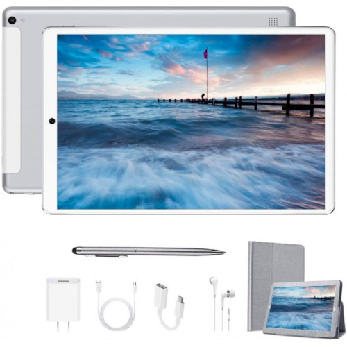 DWO 10.1 inch New Android 9.0 Quad Core Tablet PC Dual sim with 4GB RAM + 64GB Storage