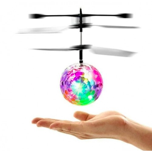 Mini Helicopter Aircraft Flying Ball flying toys Funny LED Lighting Obstacle Sensor Flying Ball Drone Helicopter Toy for Kids