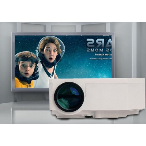UC30 1080P Portable Mini Led Projector HDMI Home Theater MINI Projector Support HDMI VGA AV USB Digital projector for PC
