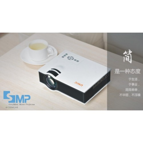 UC40 Mini Pico portable proyector Projector AV VGA A/V USB & SD with VGA HDMI Projector projetor beame
