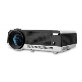 HTP LED-28 LED Maximum 50000 Hours Full HD 2800 Lumens Contrast 2000:1 Video Projector with VGA, USB,HDMI,TV