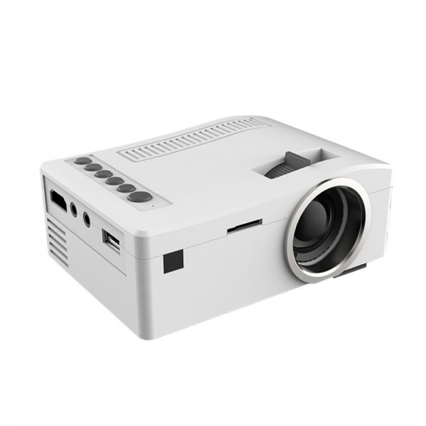 Unic uc18 the smallest lcd mini pocket projector with hdmi for Worlds smallest hd projector