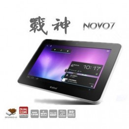 "Ainol NOVO7 Mars Cortex A9 AML8726-M3 1024DPI Processor Play 7"" capacitive Tablet PC 1GHz 1GB RAM"