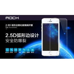Rock 0.2mm 2.5D Ultra Thin High Clear Tempered Glass Screen Protector Film for Apple iPhone 6 4.7 inch with Retail Box with tracking no