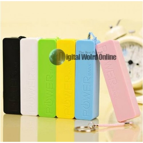 Power Bank Portable Mobile Power Bank 2600mAh universal USB External Backup Battery for apple iPhone samsung and MP3 free shipping with tracking number