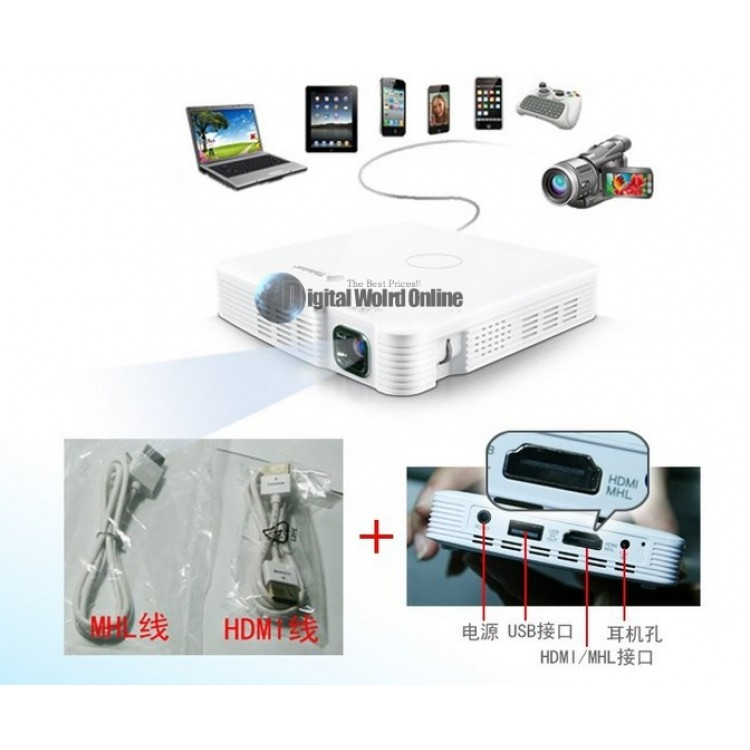 New dlp mp50 projector mobile phone projector the air pico for Pico projector accessories