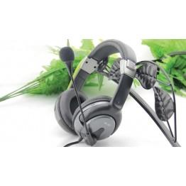 Invons id-u2 laptop usb earphones band headset single