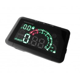 Car HUD Head Up Display Vehicle-mounted Security System With OBD2 OBD 2 Interface Overspeed Warning Fuel Consumption W01