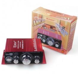 Kindt MA170 Mini 12V small amplifier car amplifier 2.0 60w Home Desktop Computer Amplifier HIFI