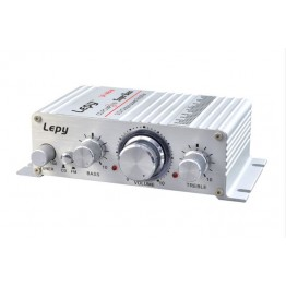 Lepy LP-A6 FM mini car amplifier computer amplifier mini amplifier small amplifier 2CH output power AMP