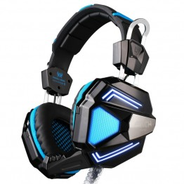 EACH G5200 7.1 Surround Sound Game Headphone Computer Gaming Headset Headband Vibration with Mic Stereo Bass Breathing LED Light